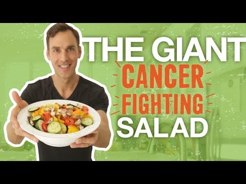 How to Make The Giant Cancer-Fighting Salad. Chris Wark (Chris Beat Cancer)