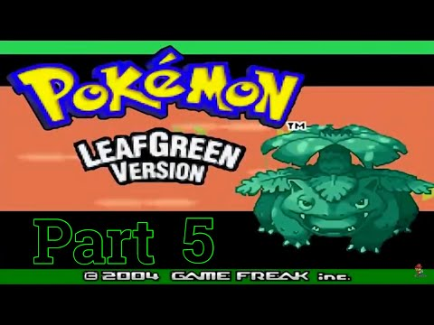 Pokémon Leaf Green - Part 5: Running Shoes