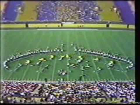 Danville High School Marching Band  1982 mba finals