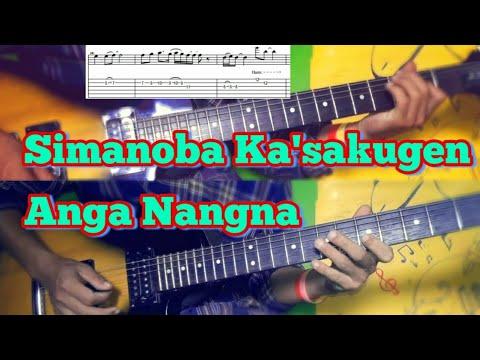 Simanoba Ka'sakugen Anga Nangna Guitar Lesson (Raiders Band)