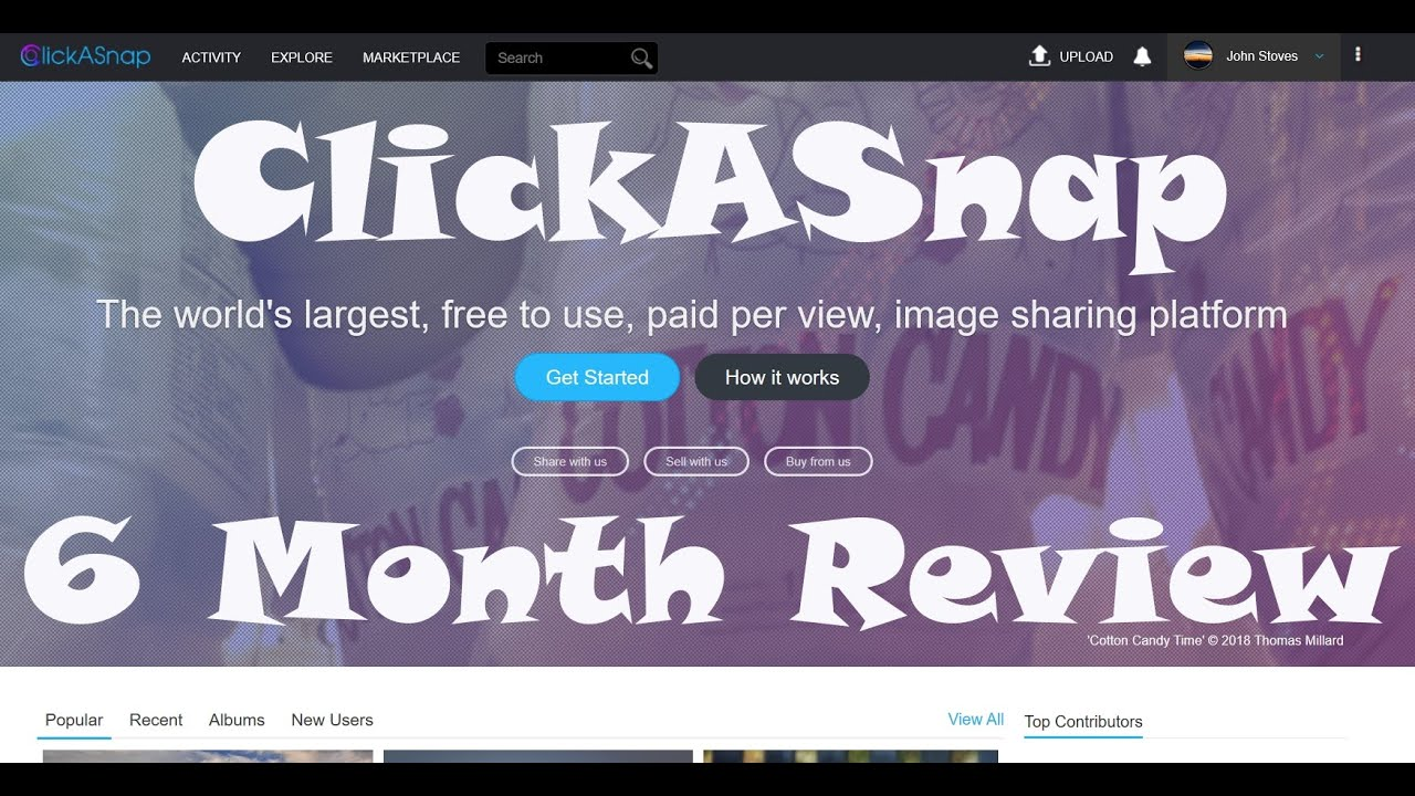 ClickASnap - #13 6 Month Review - YouTube