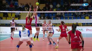 All setters want to score! Katarzyna Skorupa's excellent placement of the ball | #CLVolleyW
