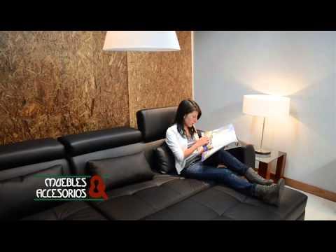 Sofa cama en l star muebles y accesorios youtube - Sofa cama muebles boom ...