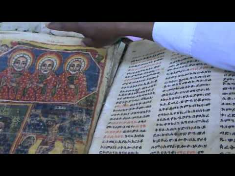 oldest bible in ethiopia  @ the st mary church of zion in Axum !