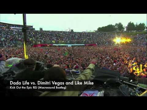Dada Life, Dimitri Vegas & Like Mike - Kick Out the Epic REJ (Macrosound Remix)