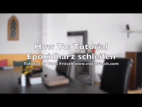 how to epoxidharz tutorial gie harz schleifen teil 2 crystal epoxy resin tutorial youtube. Black Bedroom Furniture Sets. Home Design Ideas