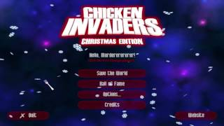 Chicken Invaders 3: Revenge of the Yolk: Christmas Edition || Electric Wolf Plays