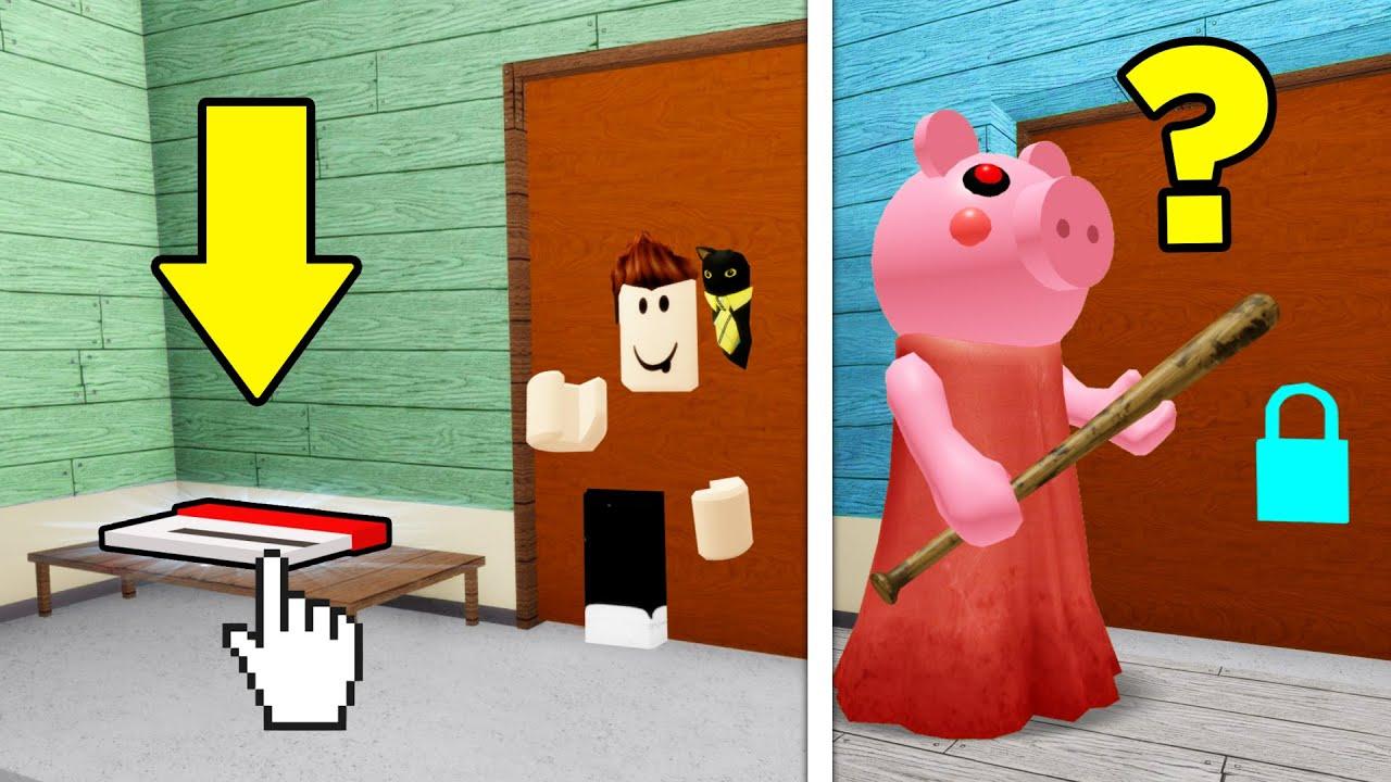 Glitches In Roblox Piggy Using Glitches To Win Piggy Youtube
