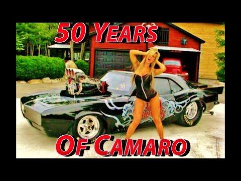 50 Years Of Camaro: Stock To Street Outlaw #GearHeadsWorld #Camaro50 #SEMA2016