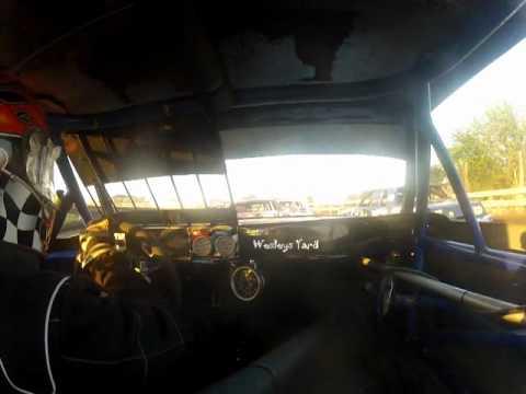 Hobby Stock in car Algona Raceway 6 9 12