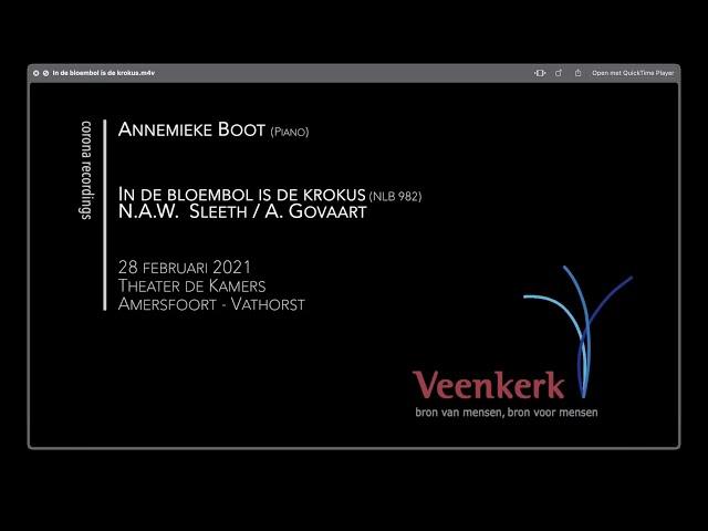 In de bloembol is de krokus (tekst) - Veenkerk Corona Recordings