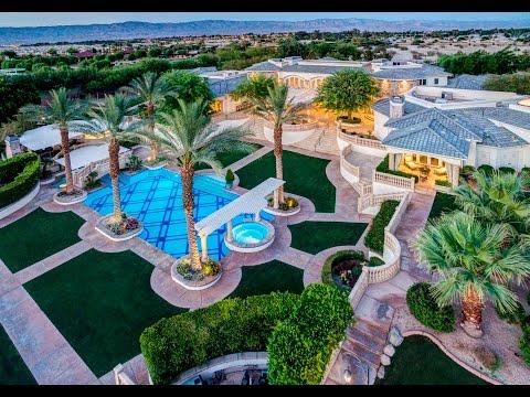 $10M Rancho Mirage MEGA MANSION |  Celebrity Estate | A Private 5-Star Resort!