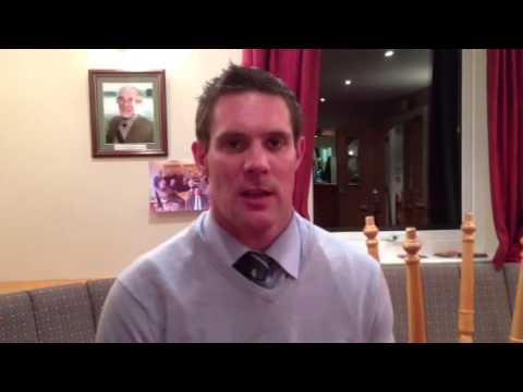 Jon Feeley interview after Cambridge match