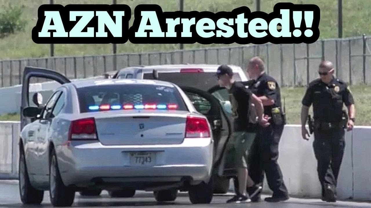Azn Arrested at No Prep Kings