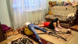 Комплекс упражнений в игровой форме, с детьми