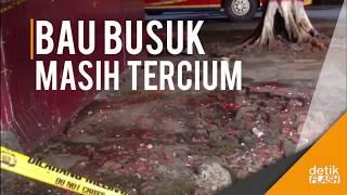 Lokasi Penemuan Mayat Di Kampung Rambutan Ditaburi Kopi Dan Bunga