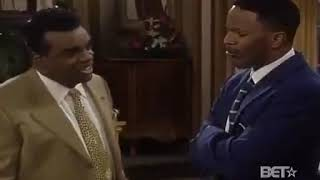 The Jamie Foxx Show Ron Isley and Mary J. Blige Scene 1998