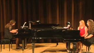 Ani and Nia Sulkhanishvili - Maarder: Andante and Toccata in C Sharp Minor