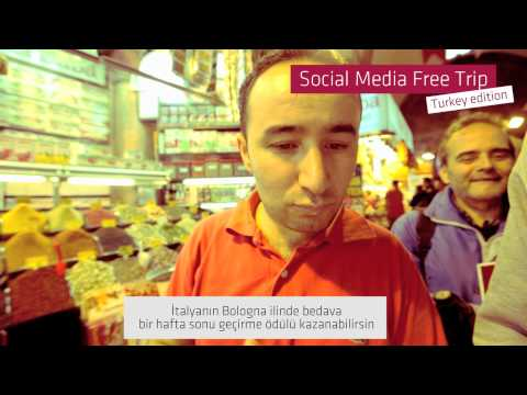 Social Media Free Trip: Mission to Istanbul (Turkish Sub)
