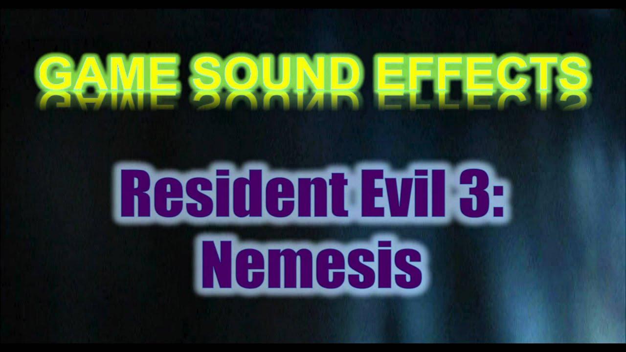 Resident Evil 3: Nemesis Sound Effects - Nemesis *Roar*