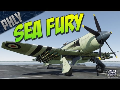 War Thunder SEA FURY MIG-15 KILLER! War Thunder Gameplay