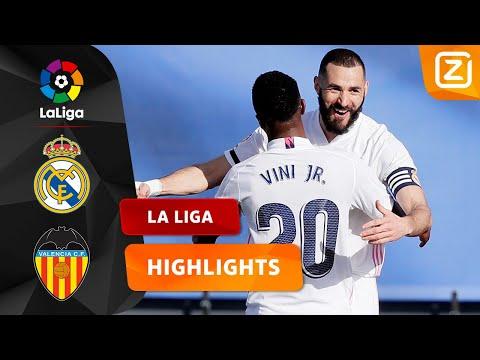 HIJ SCHIET 'M WEER LEKKER BINNEN! 🇫🇷🔥   Real Madrid Vs Valencia   La Liga 2020/21   Samenvatting