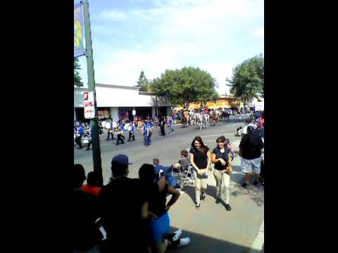Mulcahy Middle School @ Tulare County Fair Parade 2013