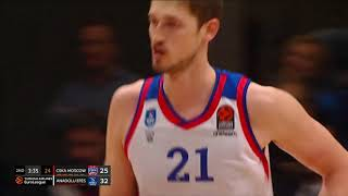 04.02.2020 / CSKA Moskova - Anadolu Efes / Tibor Pleiss