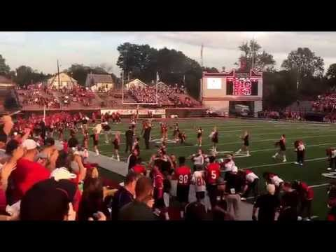 Steubenville Big Red and Massillon take the Field at Harding Stadium (September 18, 2015)