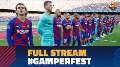 FULL STREAM | BARÇA - ARSENAL: Barça squad presentation at Camp Nou & Warm up