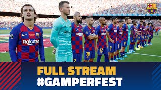 FULL STREAM | BARÇA - ARSENAL: Barça squad presentation at Camp Nou & Warm up