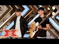 Brothers Sean and Conor Price wow with Along the Watchtower | Auditions Week 3 | The X Factor 2017