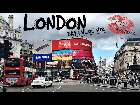 First Stop London- Shopping on Oxford street Travel Vlog #12