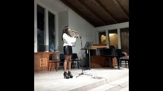 DEVONA Performing Alone by Edgar Allan Poe
