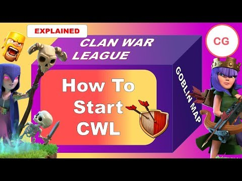 How to start Clan War League - Clash of Clans - (CWL update) - Sign Up Now