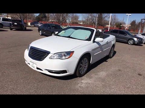 2012 Chrysler 200 Denver, Aurora, Lakewood, Littleton, Fort Collins, CO 3223VA