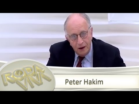 Peter Hakim - 05/01/2015