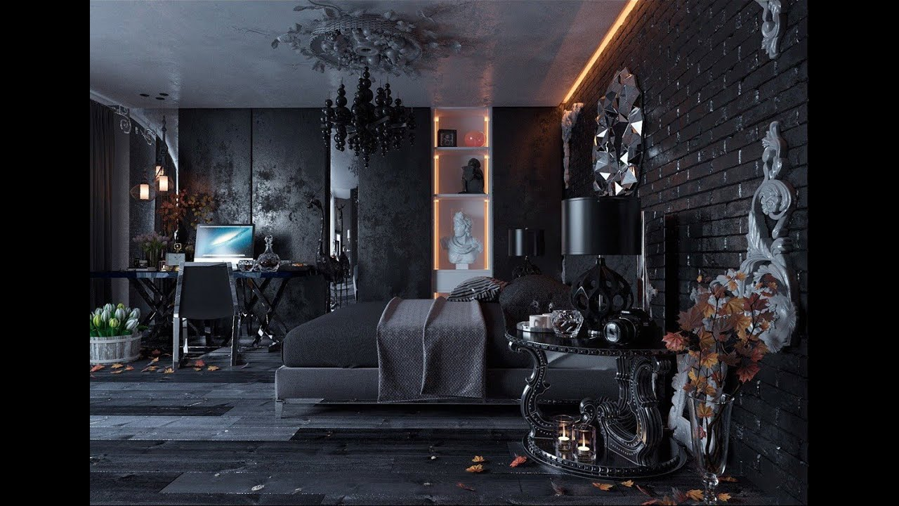 Dark Dreamy Bedroom Design Ideas