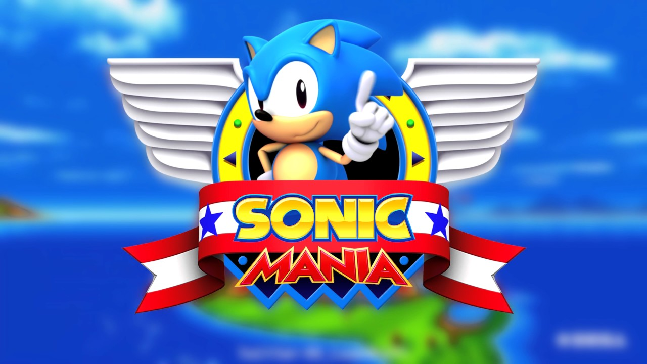 Sonic Mania Title Screen 3d Remake New Trailer Music