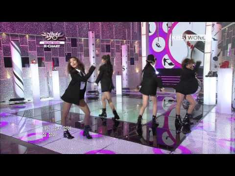 [Music Bank K-Chart] 1st Week of November & Miss A - I Don't Need a Man (2012.11.02)