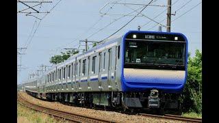 【4K】E235系1000番台 F01編成 公式試運転