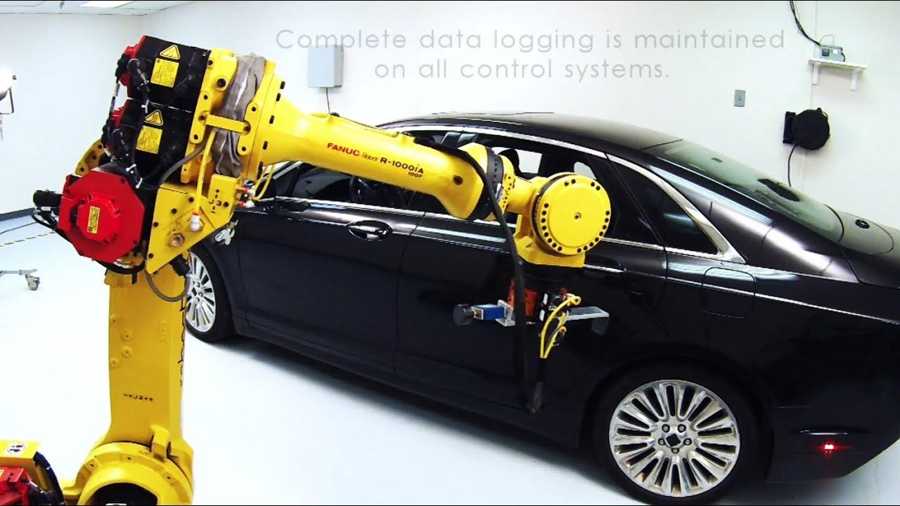 Robostand - Automotive Seat Testing Modules with FANUC Robots ...