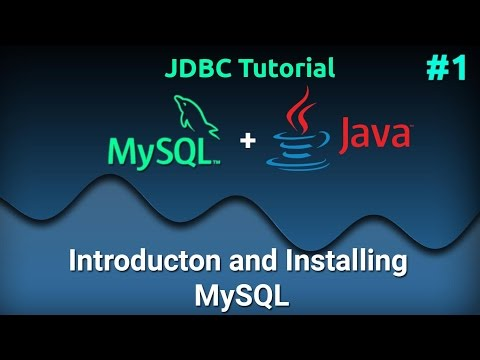 JDBC Tutorial for Beginners #1 : Introduction and Installing MySQL