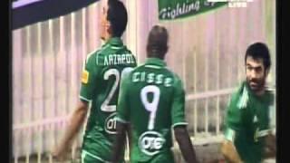 atromitos vs panathinaikos 0 1 8 11 2010