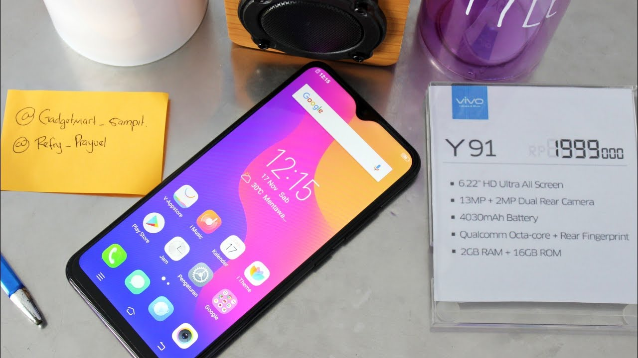 Vivo Y91 Review Indonesia Refry Ft Gadgetmart Sampit By Refry