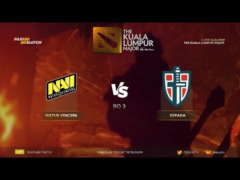 🤠 [RU] Natus Vincere vs Espada. NaVi Era | Bo3 | The Kuala Lumpur Major