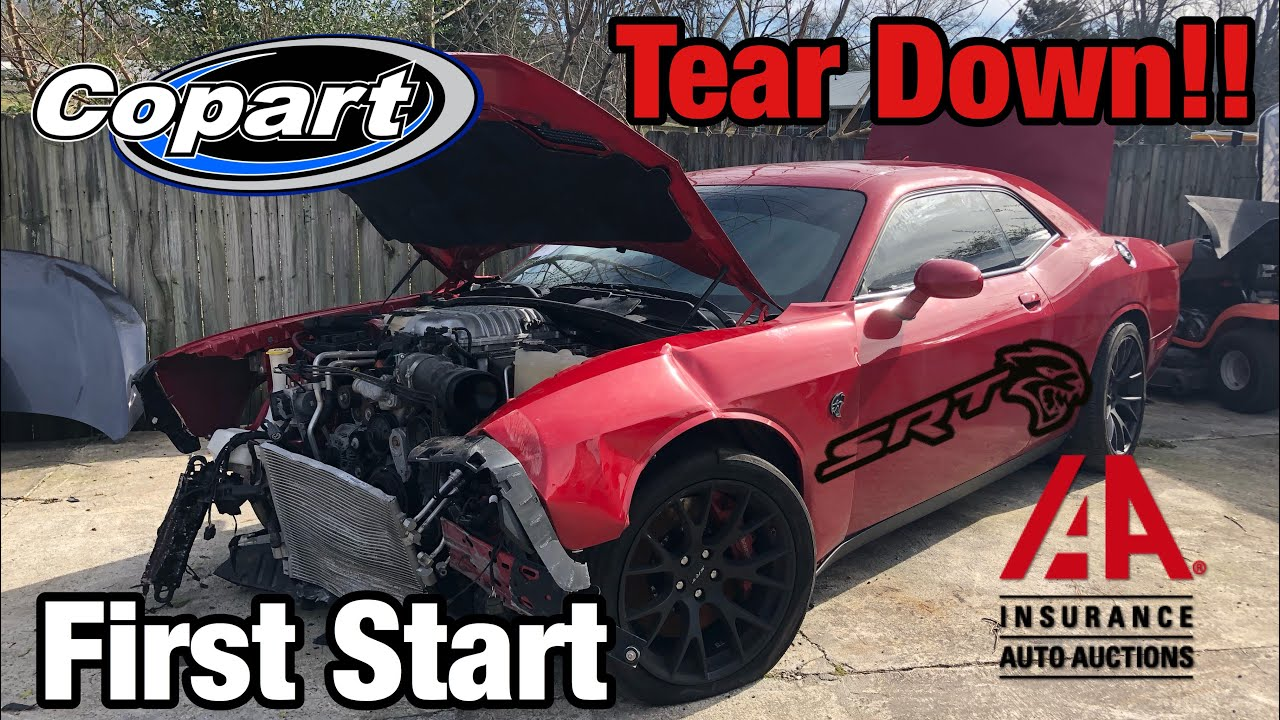 Rebuilding a Wrecked 2015 Dodge Hellcat