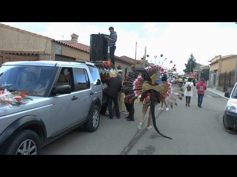 CARNAVAL DE POLAN 2017 PREPARANDOSE LAS COMPARSAS EN LA SALIDA