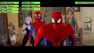 SpiderMan: Into the SpiderVerse (2018) House Fight with healthbars (30K Subscriber Special)