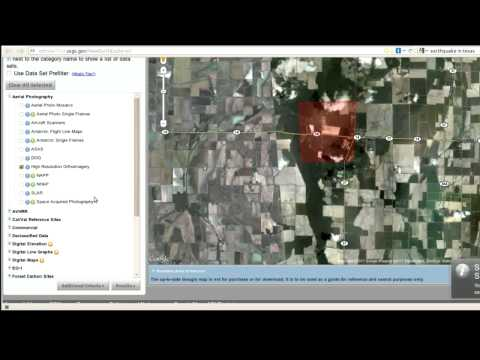 5 How to find free hi res aerial imagery - GIS tutorial